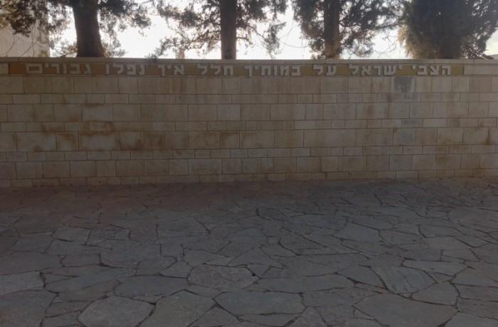 האנדרטה והמצודה