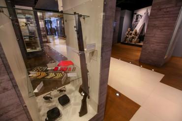 נשק במוזיאון הרעות באדיבות המועצה לשימור אתרים