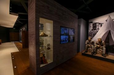 תצוגה במוזיאון הרעות באדיבות המועצה לשימור אתרים